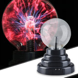 Hot Selling 8*8*13cm USB Magic Black Base Glass Plasma Ball Sphere Lightning Party Lamp Light With USB Cable - The most popular products on Tiktok | GOWOW