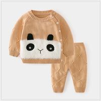 spring and autumn sweater suit, newborn cardigan jacket, baby knitwear 6 - The most popular products on Tiktok | GOWOW