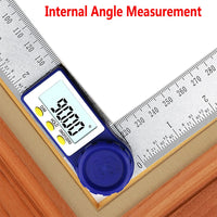 0-200mm 8'' Digital Meter Angle Inclinometer Angle Digital Ruler Electron Goniometer Protractor Angle finder Measuring Tool - The most popular products on Tiktok | GOWOW