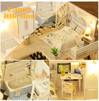 CUTEBEE DIY Dollhouse Wooden doll Houses Miniature Doll House Furniture Kit Casa Music Led Toys for Children Birthday Gift M21 - The most popular products on Tiktok | GOWOW