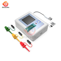 LCR-TC1 160*128 TFT LCD Color Display Graphic PNP NPN Transistor Tester Multimeter Diode Triode Capacitance Meter Resistor test - The most popular products on Tiktok | GOWOW