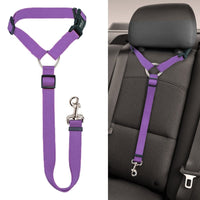 Universal Practical Dog Cat Pet Safety Adjustable Car seat Belt Harness Leash Travel Clip Strap Lead Pet Car Safety Belt - The most popular products on Tiktok | GOWOW
