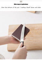 Wonderlife Emery Sponge Nano Melamine Pot Brush For Removing Rust Kitchen Tool Sponge Cleaning Brush Descaling Rub Pot - The most popular products on Tiktok | GOWOW