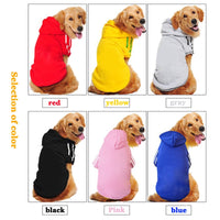 Security Dog Clothes Classic Pet Dog Hoodies Clothes For large dog Autumn Coat Jacket for Chihuahua Retriever Labrador Clothing - The most popular products on Tiktok | GOWOW