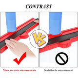 12/14/25/50cm Multi-functional Contour Gauge Tiling Laminate Tiles Edge Shaping Wood Measure Ruler Tiles Laminate Tiles Tool - The most popular products on Tiktok | GOWOW