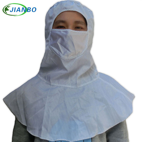 High Quality ESD Spray Painting Protective Pharmaceutical Food Factory Hat Head Safety Helmet Work Cleanroom Dustproof Shawl Hat - The most popular products on Tiktok | GOWOW