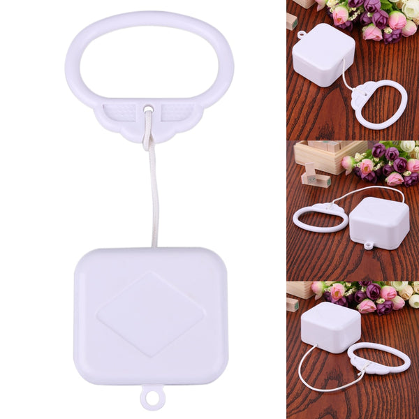 High Quality Pull String Cord Music Box White Baby Infant Rattle Kids Bed Bell Rattle Toy Gift For DIY Plush Toy Ages 0-3 Years - The most popular products on Tiktok | GOWOW