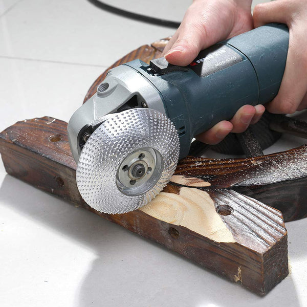 High Quanlity Wood Grinding Wheel Rotary Disc Sanding Wood Carving Tool Abrasive Disc Tools For Angle Grinder 4inch Bore - The most popular products on Tiktok | GOWOW