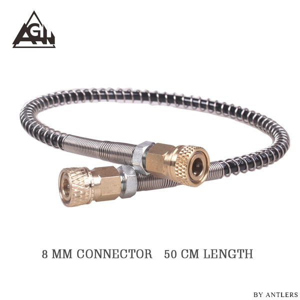 High pressure hose Airgun Paintball Airsoft 63Mpa/9000PSI  8mm Quick Connector for PCP Hand Pump M10*1 with 2x female connector - The most popular products on Tiktok | GOWOW