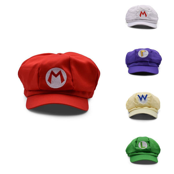 Hot Toys SuperMario Super Mary Cosplay MARIO Cosplay Clothes Halloween Costumes Cartoon Hats 5 Colors - The most popular products on Tiktok | GOWOW