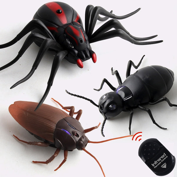 Infrared RC Remote Control Animal Toy Kit for Kids Adults Smart Cockroach Spider Ant Prank Jokes Radio Insect for Boys 1 Piece - The most popular products on Tiktok | GOWOW