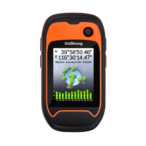 JISIBAO G120 professional GNSS handset Handheld GPS positioning navigator Outdoor cross-country navigation Area measuring - The most popular products on Tiktok | GOWOW