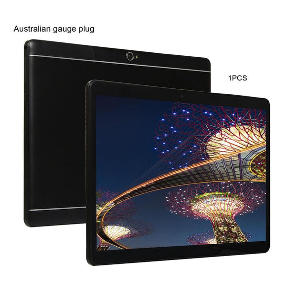 KT107 Round Hole Tablet 10.1 Inch HD Large Screen Android 8.10 Version Fashion Portable Tablet 8G+64G Black Tablet - The most popular products on Tiktok | GOWOW