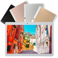 KT107 Round Hole Tablet 10.1 Inch HD Large Screen Android 8.10 Version Fashion Portable Tablet 8G+64G Gold Tablet - The most popular products on Tiktok | GOWOW