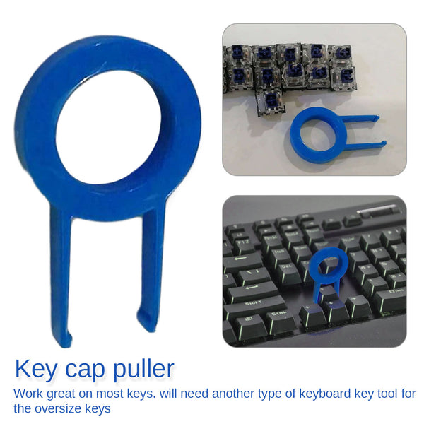 Keycap Puller Mechanical Keyboard Keyboard Key Cap Round Key Cap Fixing Tool Keycap Puller Remover Random Color Black or Blue - The most popular products on Tiktok | GOWOW
