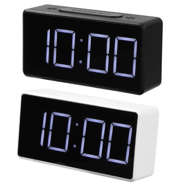 LED Digital Alarm Clock with USB Port Snooze Table Clock Electronic Clock Desk Alarm Clock USB Timer Calendar °C-℉ Thermometer - The most popular products on Tiktok | GOWOW
