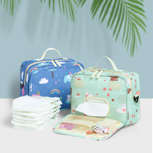 Land mommy diaper handbags mummy cartoon shoulder bags stroller Muiti-functional changing mat nappy storage bags MPB94 - The most popular products on Tiktok | GOWOW