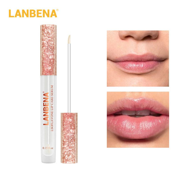 Lip Gloss Moisturizing Lip Plumping Care Serum Long-Lasting Nourishment Protects The Lips Lip Balm Reduce Fine Line TSLM1 - The most popular products on Tiktok | GOWOW