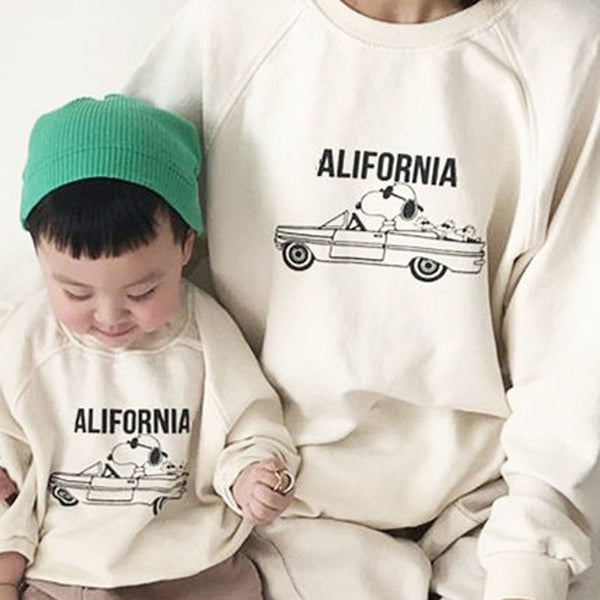 MILANCEL autumn new family clothes Korean style family matching outfit casual mother and me clothes - The most popular products on Tiktok | GOWOW