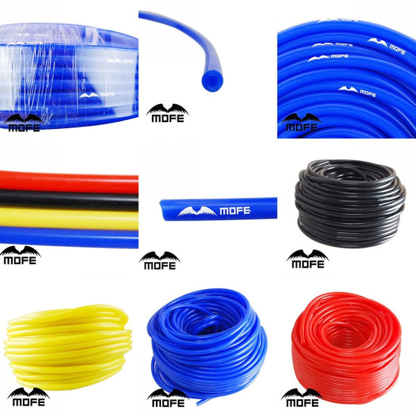 MOFE Universal 1M 3mm/4mm/6mm/8mm Silicone Vacuum Tube Hose Silicon Tubing Blue Black Red Yellow Car Accessories - The most popular products on Tiktok | GOWOW