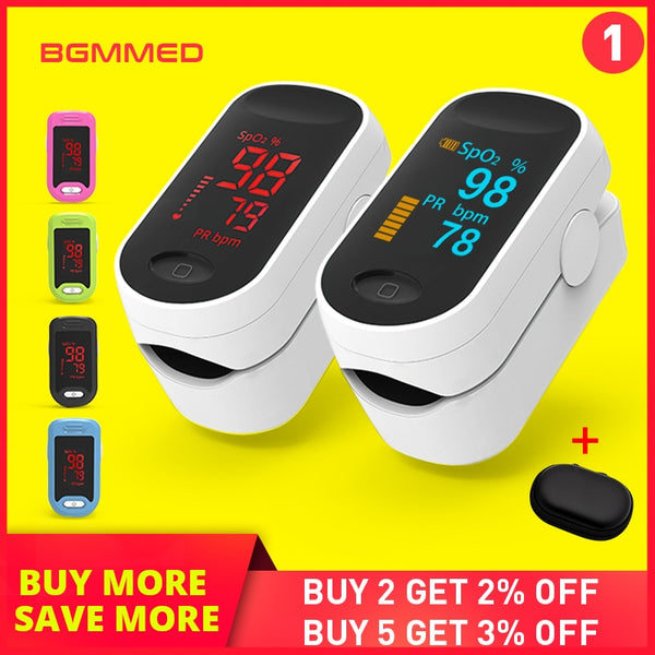 Medical Digital Pulse Oximeter LED Oximetro blood oxygen Heart Rate Monitor SpO2 Health Monitors Oximetro De Dedo - The most popular products on Tiktok | GOWOW