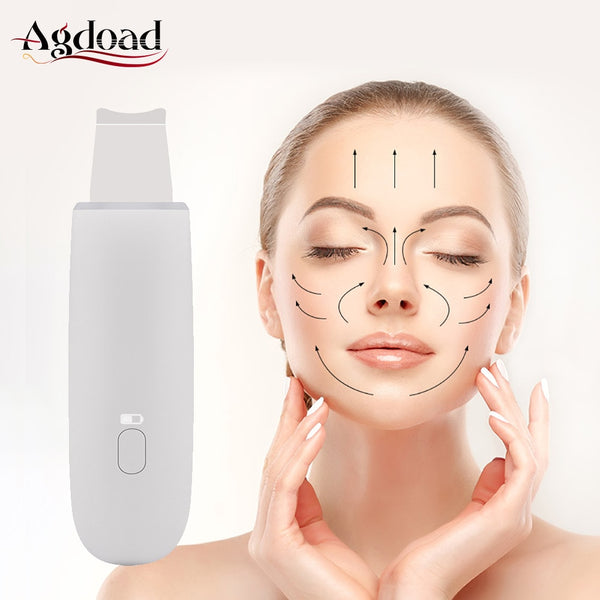 Microdermabrasion Facial Peel Machine Deep Cleaning Beauty Instrument Ultrasonic Skin Scrubber Face Lifting Exfoliating Device - The most popular products on Tiktok | GOWOW