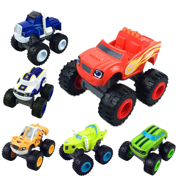 Monstere Machines Car Toys Russian Miracle Crusher Truck Vehicles Figure Blazed Toys For Children Birthday Gifts Blazer Kid Toys - The most popular products on Tiktok | GOWOW