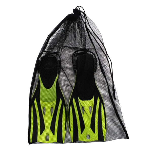 Multi Functional Scuba Diving Mesh Drawstring Bag for Swimming Water Sports  Beach Diving Travel Gym Gear Black 64 x 46cm - The most popular products on Tiktok | GOWOW