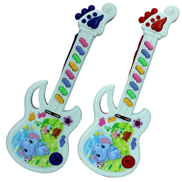 Musical Instrument Kids Guitar Montessori Toys for Children School Play Game Education Christmas Birthday Gift Color Random - The most popular products on Tiktok | GOWOW