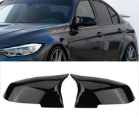 NEW-For Bmw F20 F21 F87 M2 F23 F30 F36 X1 E84 Gloss Black Side Mirror Cover Cap Rearview -M4 Style - The most popular products on Tiktok | GOWOW
