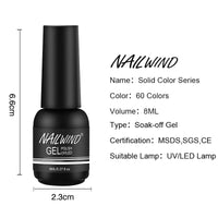 Nailwind Gel Nail Polish Pure Color Semi Permanent Base top Need UV LED lamp For Manicure Varnish Paint Hybrid  nail gel - The most popular products on Tiktok | GOWOW