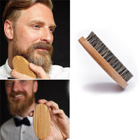 Natural Boar Bristle Beard Brush For Men Bamboo Face Massage That Works Wonders To Comb Beards and Mustache Drop Shipping 80716 - The most popular products on Tiktok | GOWOW