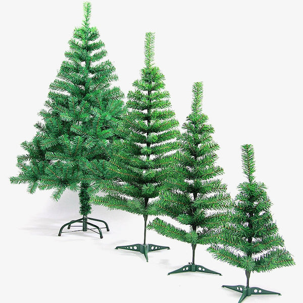New Artificial Decorated Christmas Tree Green X-mas Plastic Tree 180cm New Year Home Ornaments Desktop Decor Christmas Tree - The most popular products on Tiktok | GOWOW