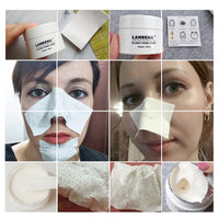 New LANBENA Unisex Blackhead Remover Nose Face Mask Pore Strip Black Mask Peeling Acne Treatment Black Deep Cleansing Skin Care - The most popular products on Tiktok | GOWOW