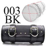 New Motorcycle Saddlebags PU Leather Front Fork Tail Tool Bag Luggage For Harley Chopper Bobber Cruiser Sportster XL 883 1200 - The most popular products on Tiktok | GOWOW