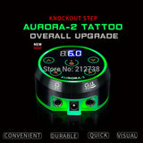 New Professional Mini  AURORA II LCD Tattoo Power Supply with Power Adaptor for Coil & Rotary Tattoo Machines - The most popular products on Tiktok | GOWOW