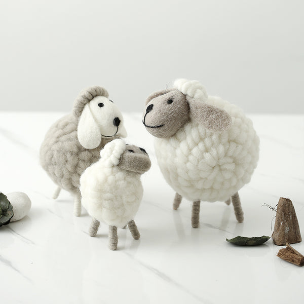 Newborn Photography Props Plush Sheep Photos Children Toy Baby Photo Props Accessories European Style Home Furnishing Articles - The most popular products on Tiktok | GOWOW