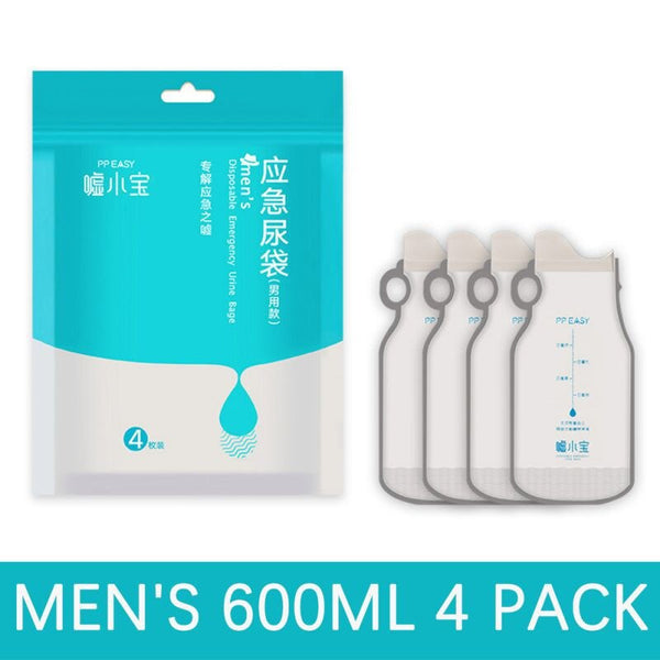 ONEWELL 4PCS Disposable Urine Bags Camping Collection Pee Bag For Outdoor Travel Urinal Toilet Traffic Jam Emergency - The most popular products on Tiktok | GOWOW
