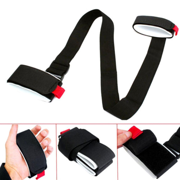 OUTAD Adjustable Skiing Pole Shoulder Carrier Lash Handle Straps Porter Hook Loop Protecting Black Nylon Ski Handle Strap Bags - The most popular products on Tiktok | GOWOW