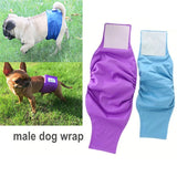 OhBabyKa Reusable Washable Dog Shorts Doggie Diaper Durable Comfortable Stylish Dog Pants Wraps for Male Dogs 3 Size S M L - The most popular products on Tiktok | GOWOW