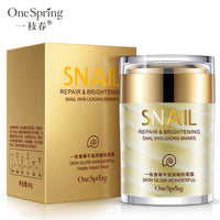 OneSping Face Cream Snail Cream Whitening Cream Aloe Vera Gel Eye Serum eye bags Anti Wrinkle Rorec Korean Face Care Cosmetics - The most popular products on Tiktok | GOWOW