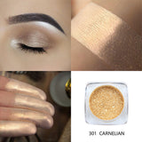 PHOERA Metallic Diamond Single Color Payoff Shimmer Eyeshadow Makeup Palette Glitters Powder Eye Shadow Pigmented Smoky Eyelids - The most popular products on Tiktok | GOWOW