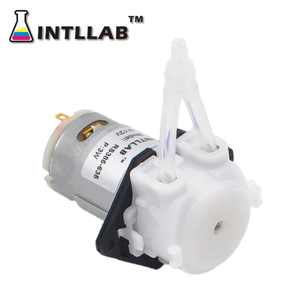 Peristaltic Pump 12V DC DIY  Liquid Dosing Pump for Aquarium Lab Analytical - The most popular products on Tiktok | GOWOW