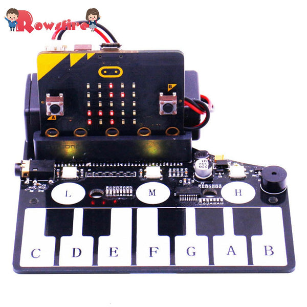 Piano Shape Expansion Board Music Development Board With RGB Colored Light Buzzer For Microbit - The most popular products on Tiktok | GOWOW