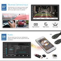 Podofo 2din Car Radio Android multimedia player Autoradio 2 Din 7'' Touch screen GPS WIFI Bluetooth FM auto audio player stereo - The most popular products on Tiktok | GOWOW