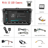 Podofo Android 8.1 2Din Car MP5 Multimedia Video Player GPS Car Radio Auto Radio Stereo 8''Audio For Seat/Skoda/Passat/Golf/Polo - The most popular products on Tiktok | GOWOW