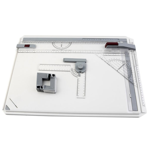 Portable A3 Drawing Board Table with Parallel Motion Adjustable Angle Draftsman Art Painting Drawing Tools Palette - The most popular products on Tiktok | GOWOW