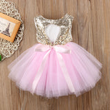 Princess Kids Baby Dress For Girls Fancy Wedding Dress Sleeveless Sequins Party Birthday Baptism Dress For Girl Summer Dresses - The most popular products on Tiktok | GOWOW