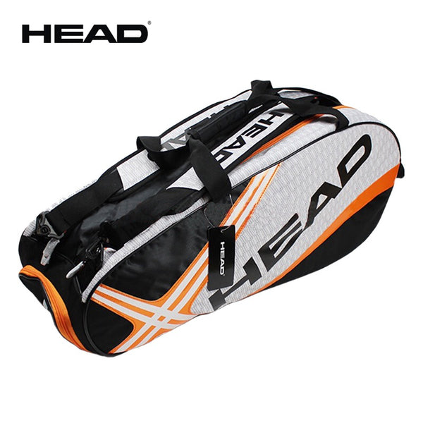 Professional Head Tennis Bag Large Capacity Max For 6 Tennis Rackets Male Sports Backpack Or Single Shoulder Djokovic Same Type - The most popular products on Tiktok | GOWOW