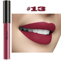Professional Makeup Velvet Nude Lip gloss Waterproof Liquid Matte Lipstick Long lasting Black Lipstick Set Korean Cosmetics - The most popular products on Tiktok | GOWOW